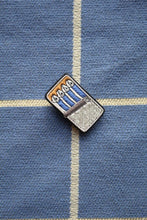 Load image into Gallery viewer, Hand Embroidered Brooch - Sardines