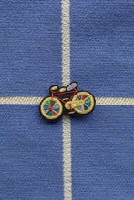 Load image into Gallery viewer, Hand Embroidered Brooch - Paradise Bike (Colour)