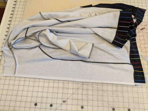 Apply interfacing to full length of front bodice