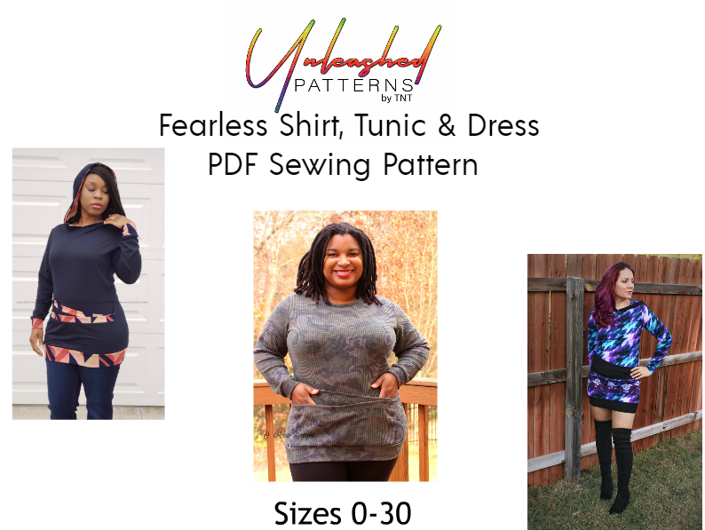 Fearless Double Pocket Shirt, Tunic, & Dress