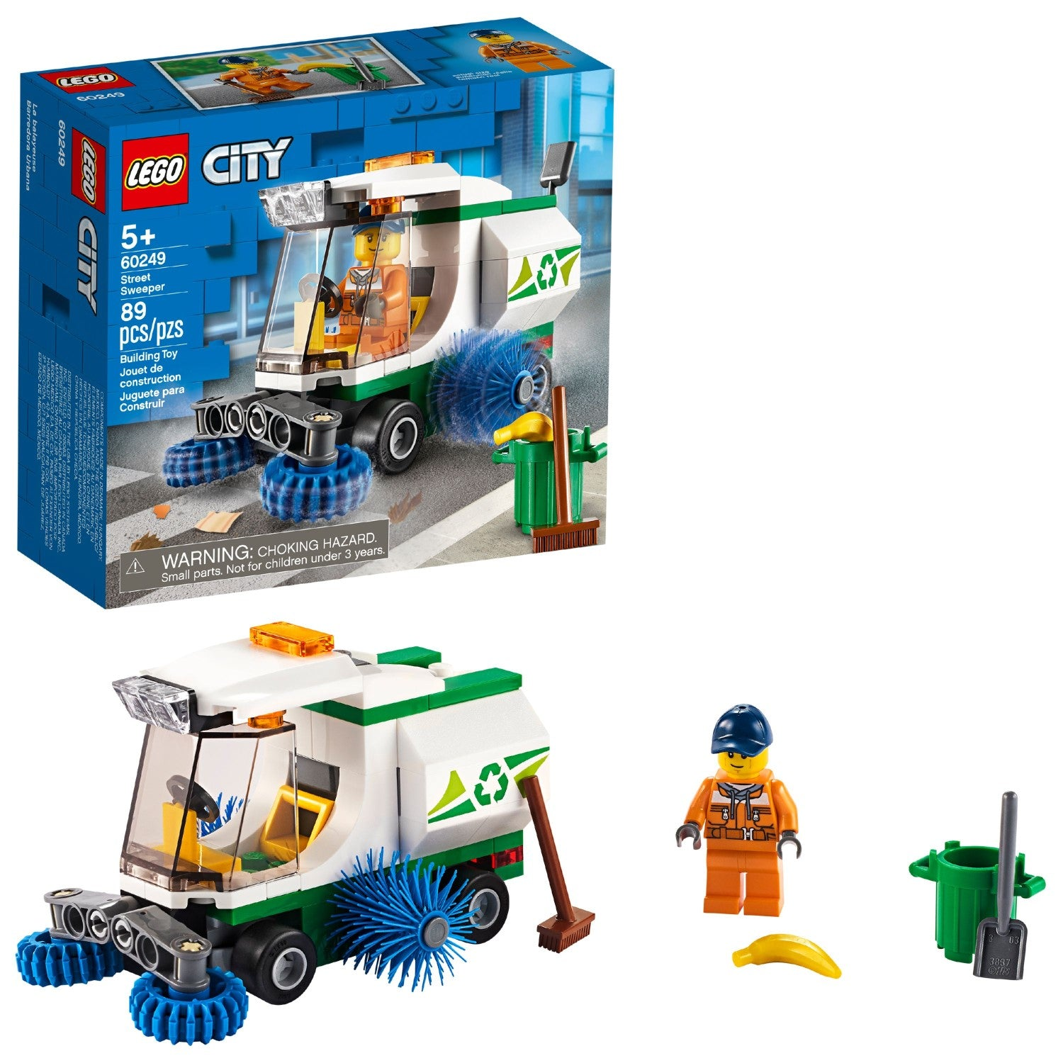 LEGO City Super Pack 2 in 1 Street Sweet and Forest Fire Set 66637 NEW IN BOX