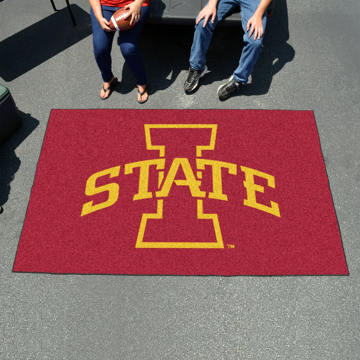 Collegiate - Ulti-Mat: A - L Collegiate Mats, Rectangular Mats, Ulti-Mat, Collegiate, Home Fan Mats Iowa State