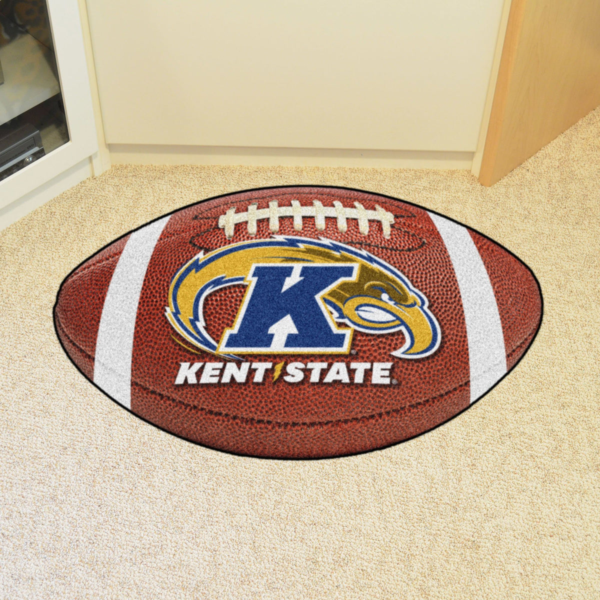Collegiate - Football Mat: A - K Collegiate Mats, Rectangular Mats, Football Mat, Collegiate, Home Fan Mats Kent State