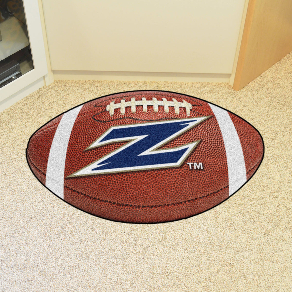 Collegiate - Football Mat: A - K Collegiate Mats, Rectangular Mats, Football Mat, Collegiate, Home Fan Mats Akron