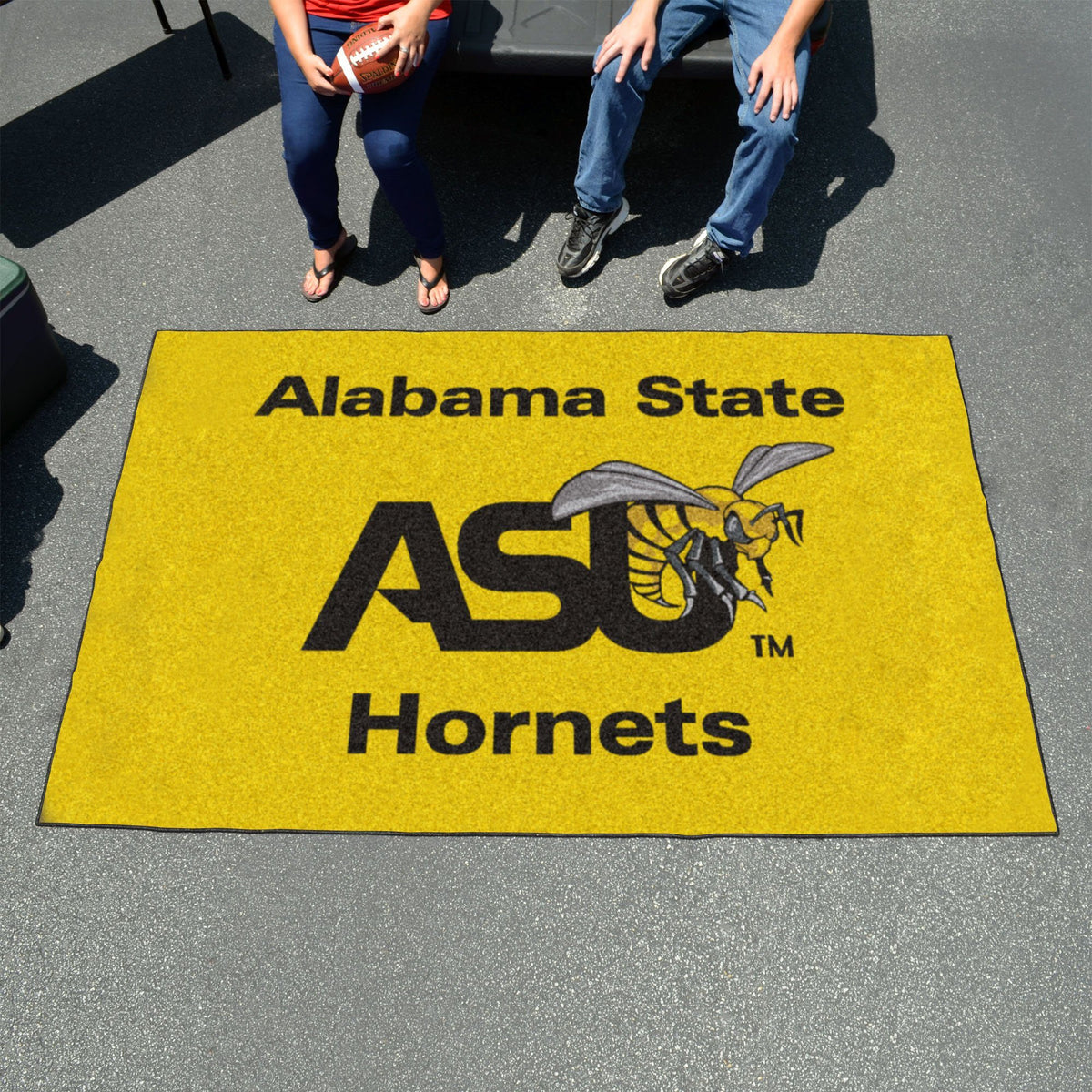 Collegiate - Ulti-Mat: A - L Collegiate Mats, Rectangular Mats, Ulti-Mat, Collegiate, Home Fan Mats Alabama State
