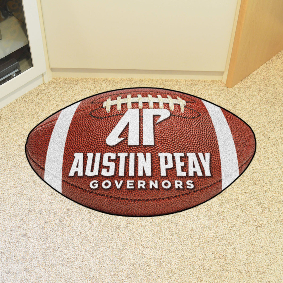 Collegiate - Football Mat: A - K Collegiate Mats, Rectangular Mats, Football Mat, Collegiate, Home Fan Mats Austin Peay