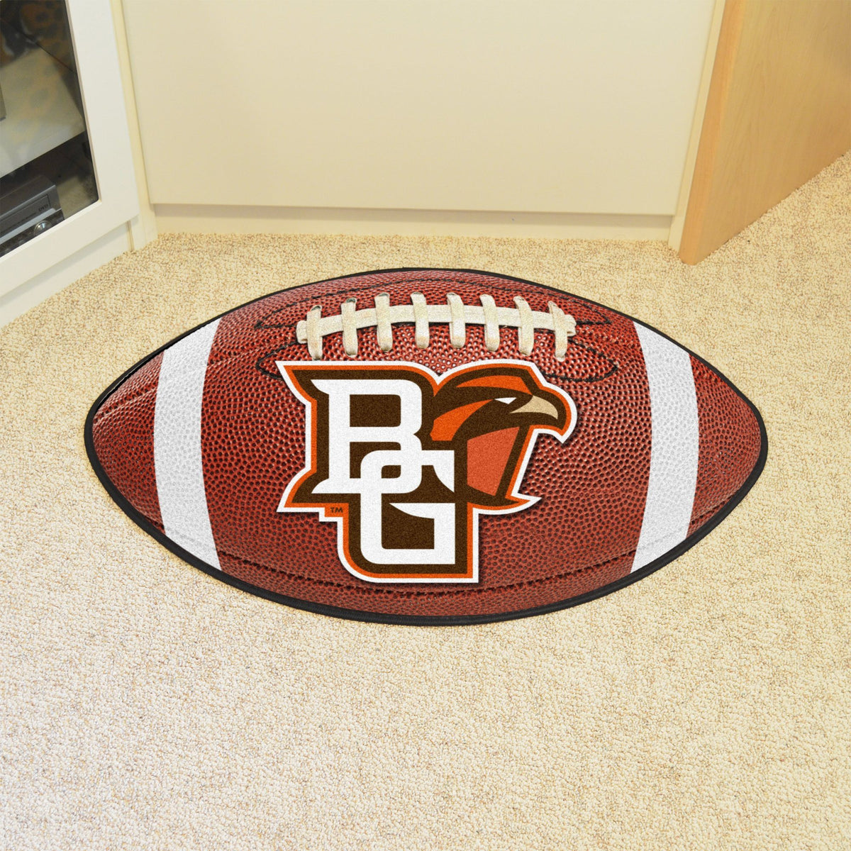 Collegiate - Football Mat: A - K Collegiate Mats, Rectangular Mats, Football Mat, Collegiate, Home Fan Mats Bowling Green
