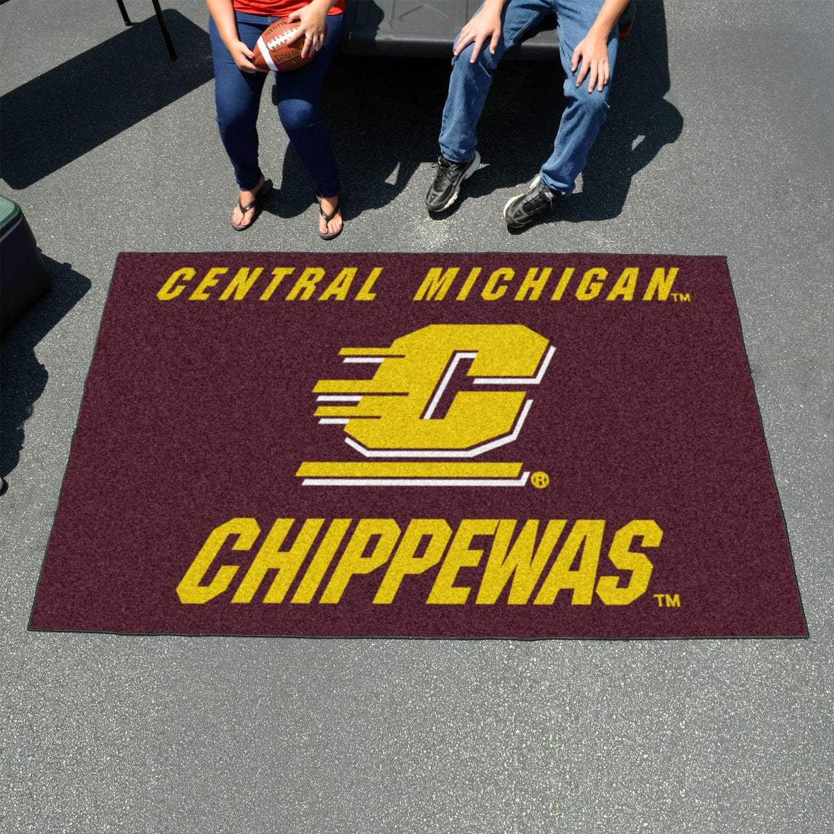 Collegiate - Ulti-Mat: A - L Collegiate Mats, Rectangular Mats, Ulti-Mat, Collegiate, Home Fan Mats Central Michigan