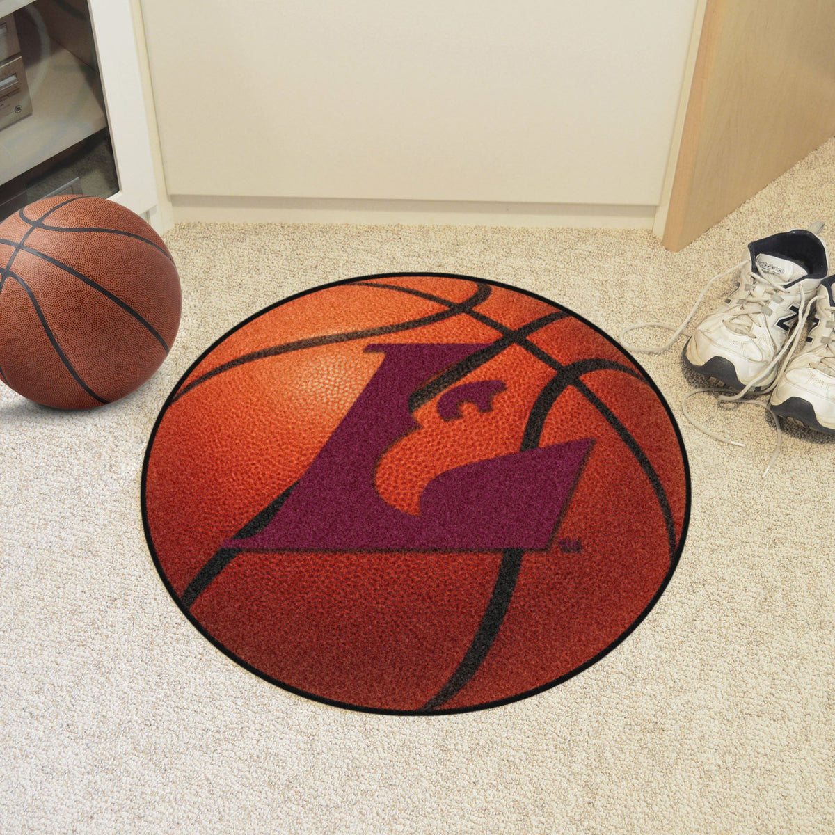 Collegiate - Basketball Mat: T - Z Collegiate Mats, Rectangular Mats, Basketball Mat, Collegiate, Home Fan Mats Wisconsin-La Crosse