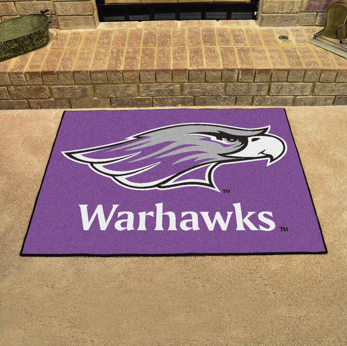 Collegiate - All-Star Mat: T - Z Collegiate Mats, Rectangular Mats, All-Star Mat, Collegiate, Home Fan Mats Wisconsin-Whitewater
