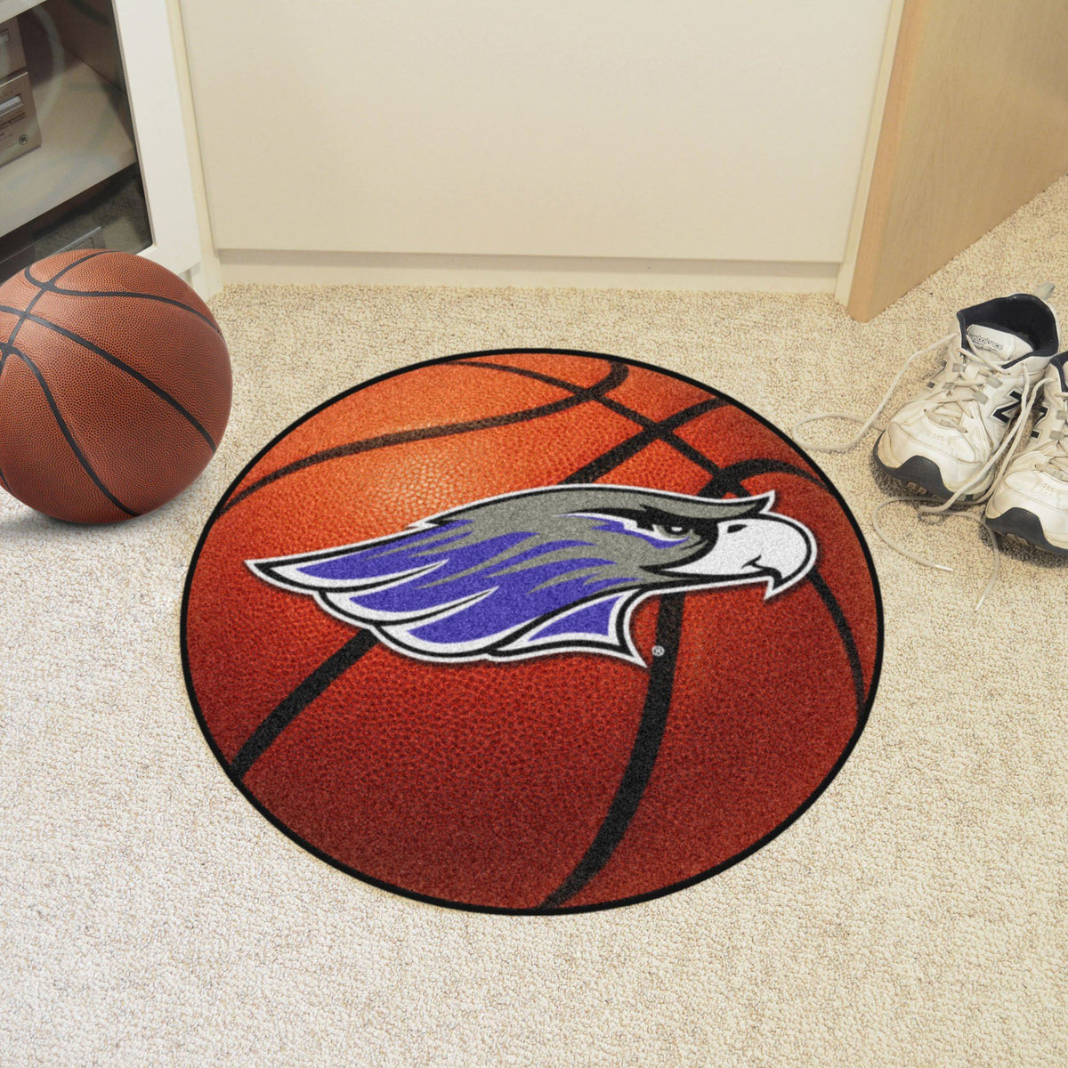 Collegiate - Basketball Mat: T - Z Collegiate Mats, Rectangular Mats, Basketball Mat, Collegiate, Home Fan Mats Wisconsin-Whitewater