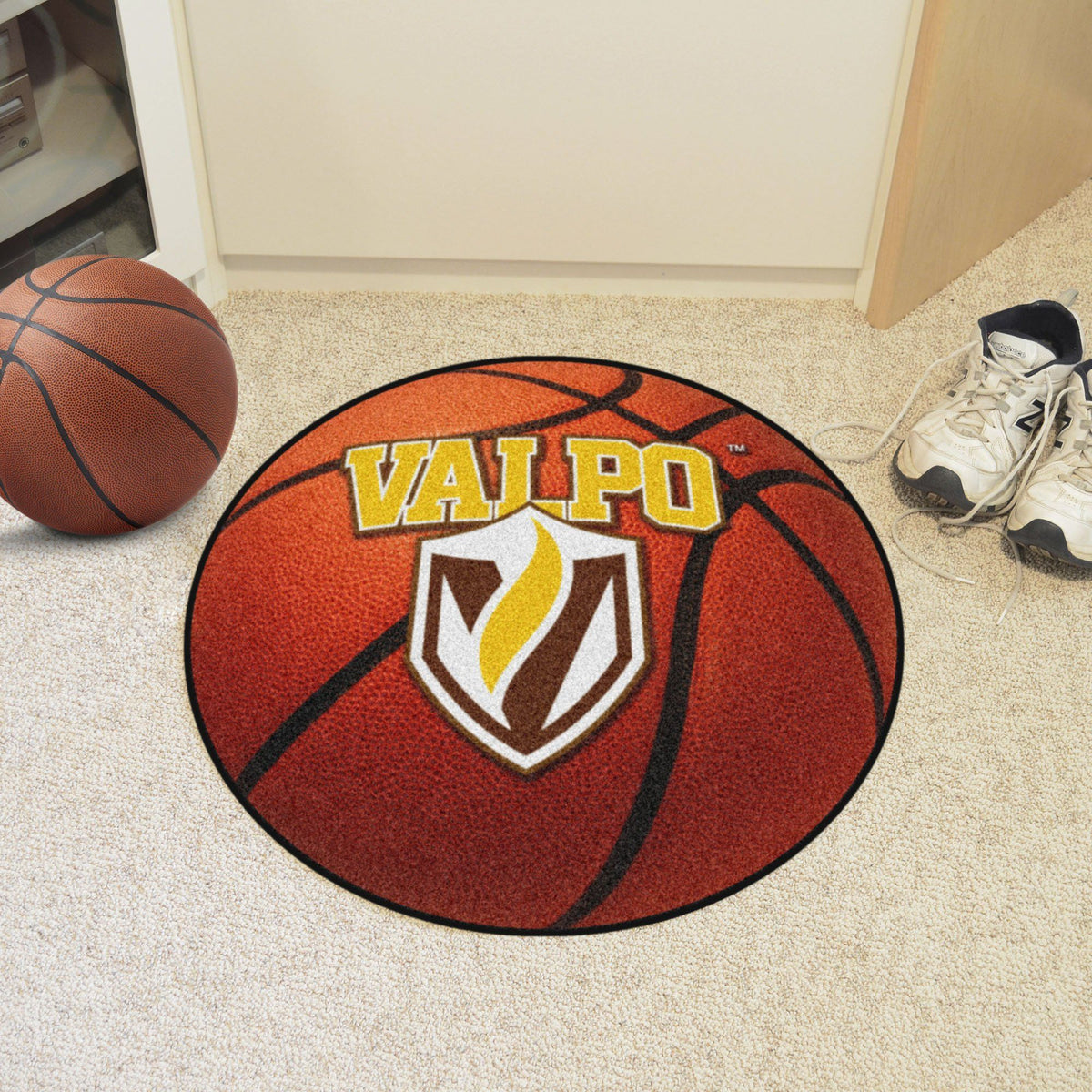 Collegiate - Basketball Mat: T - Z Collegiate Mats, Rectangular Mats, Basketball Mat, Collegiate, Home Fan Mats Valparaiso