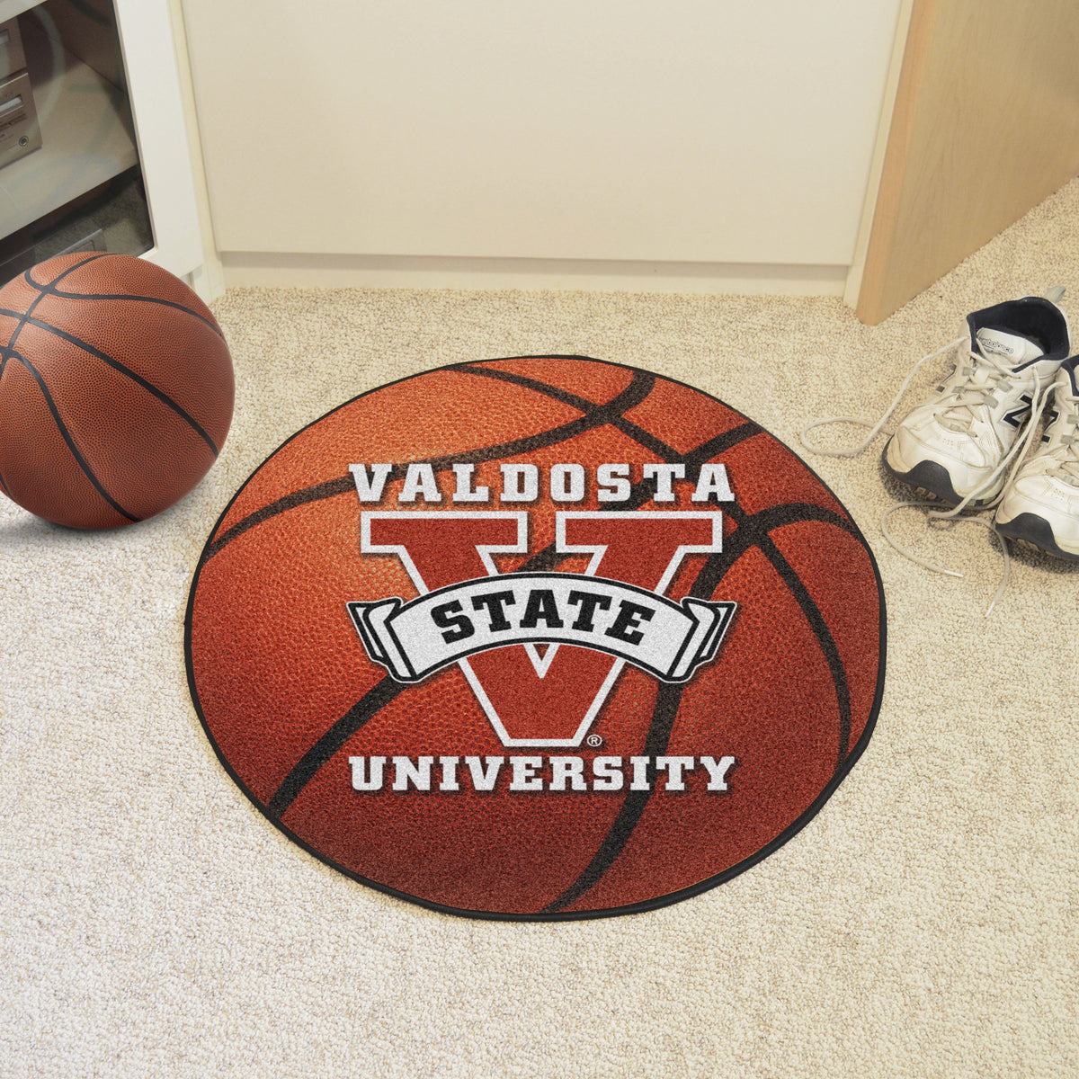 Collegiate - Basketball Mat: T - Z Collegiate Mats, Rectangular Mats, Basketball Mat, Collegiate, Home Fan Mats Valdosta State