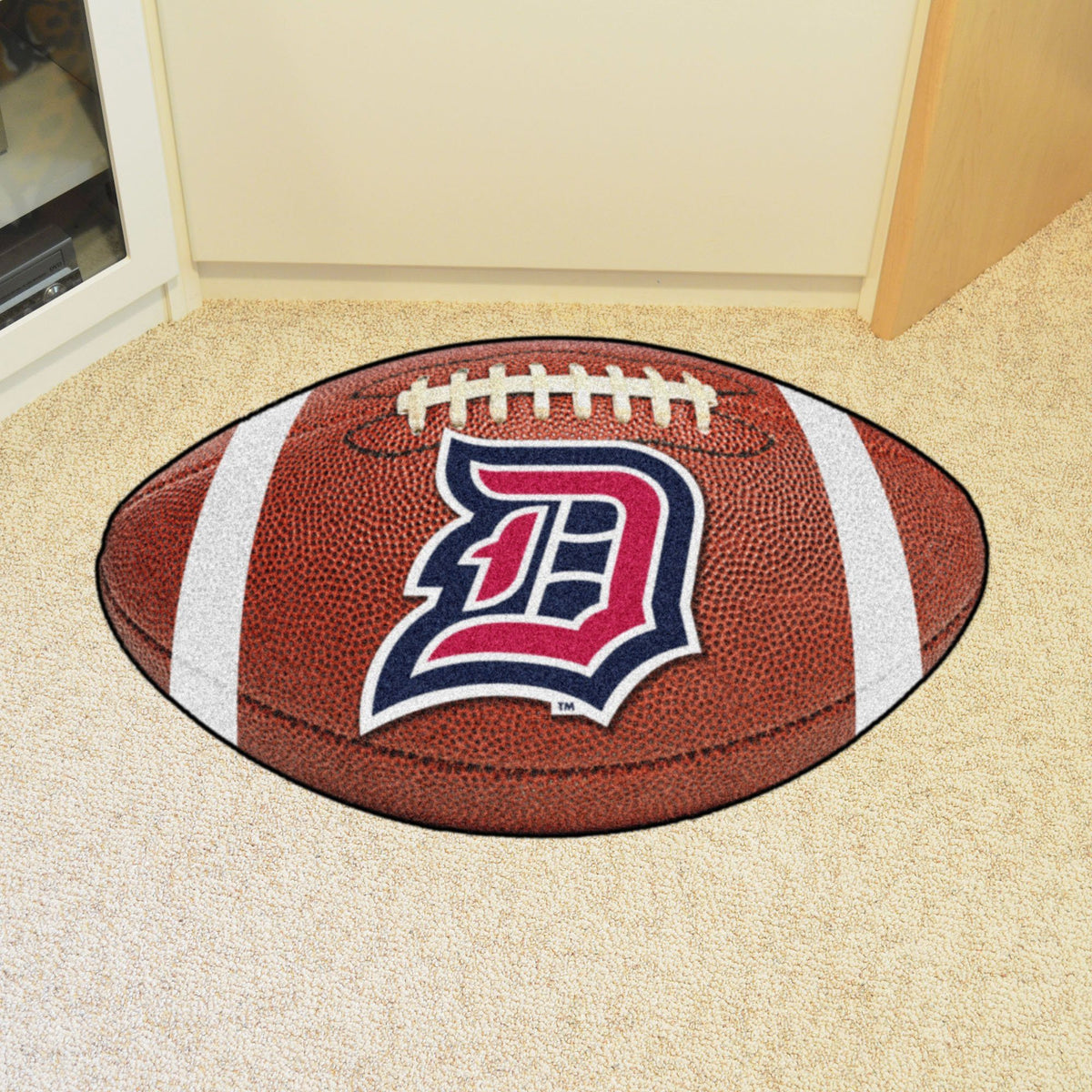 Collegiate - Football Mat: A - K Collegiate Mats, Rectangular Mats, Football Mat, Collegiate, Home Fan Mats Duquesne