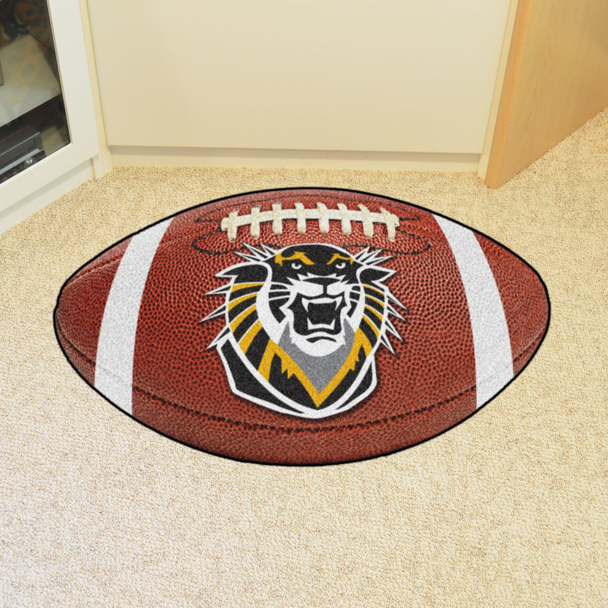 Collegiate - Football Mat: A - K Collegiate Mats, Rectangular Mats, Football Mat, Collegiate, Home Fan Mats Fort Hays State