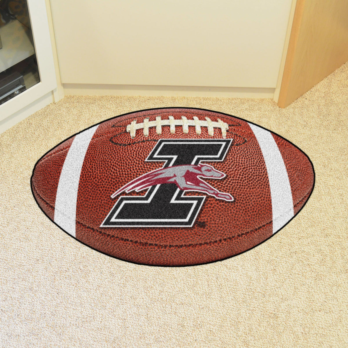 Collegiate - Football Mat: A - K Collegiate Mats, Rectangular Mats, Football Mat, Collegiate, Home Fan Mats Indianapolis