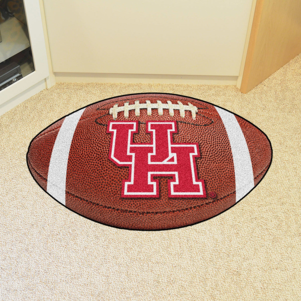 Collegiate - Football Mat: A - K Collegiate Mats, Rectangular Mats, Football Mat, Collegiate, Home Fan Mats Houston
