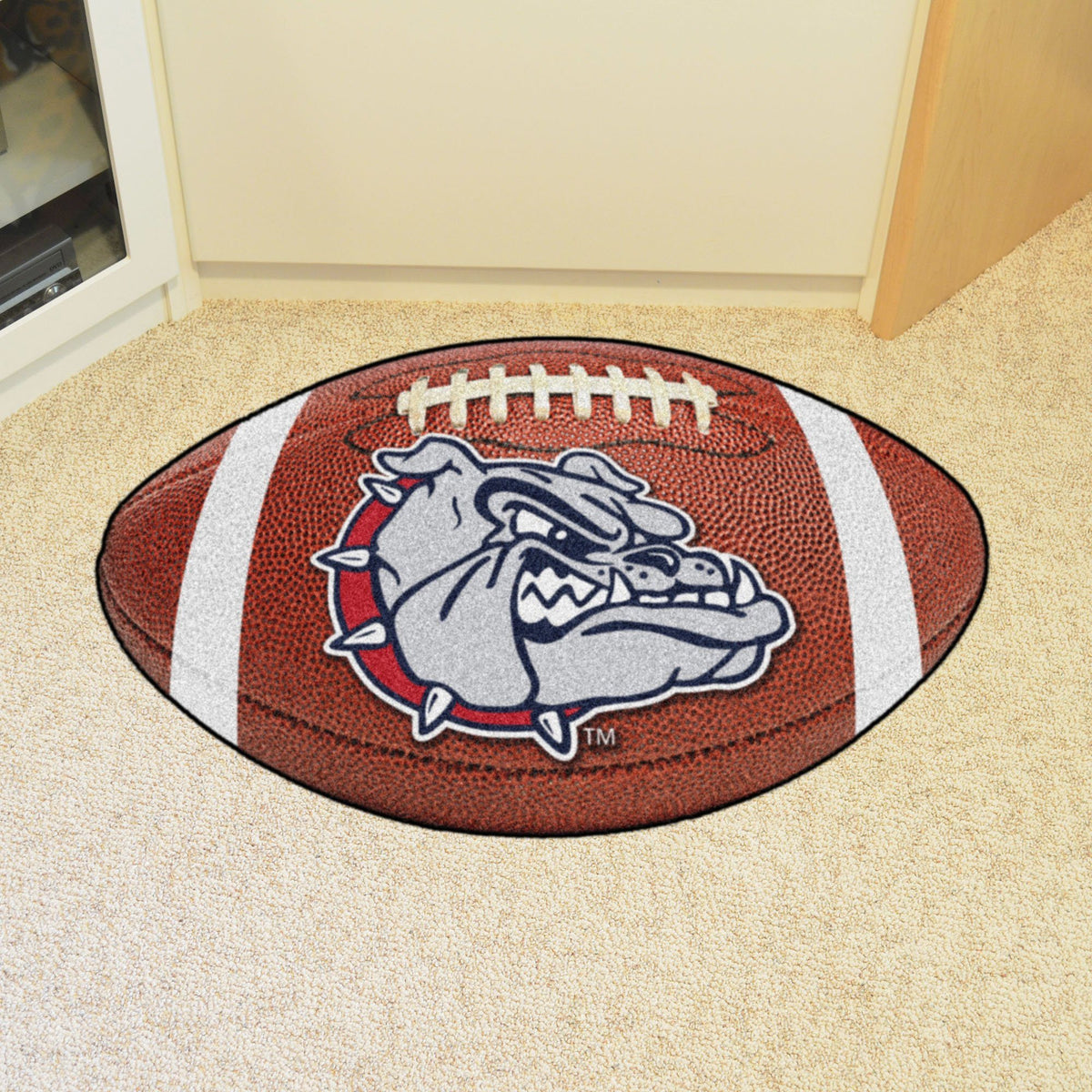 Collegiate - Football Mat: A - K Collegiate Mats, Rectangular Mats, Football Mat, Collegiate, Home Fan Mats Gonzaga