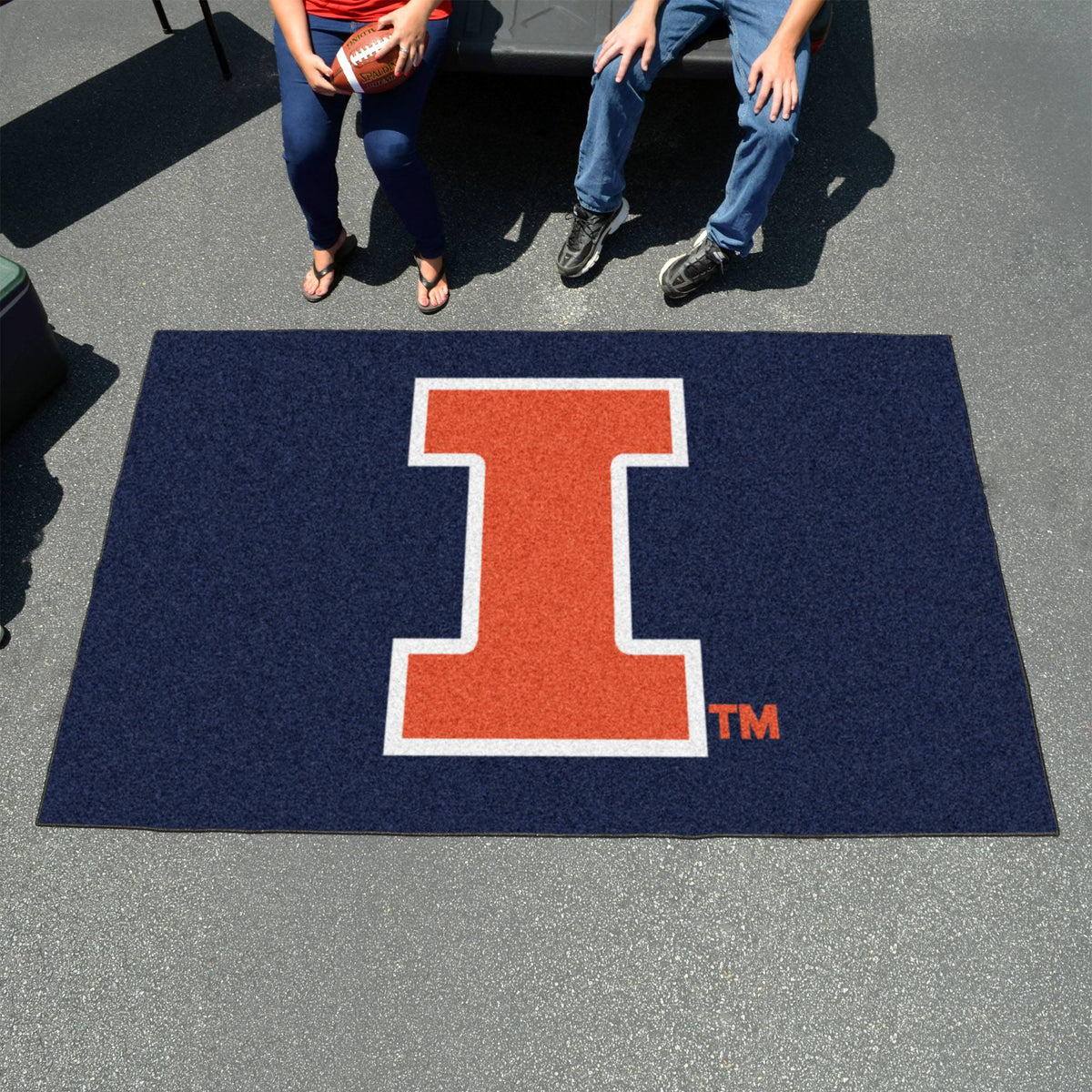 Collegiate - Ulti-Mat: A - L Collegiate Mats, Rectangular Mats, Ulti-Mat, Collegiate, Home Fan Mats Illinois