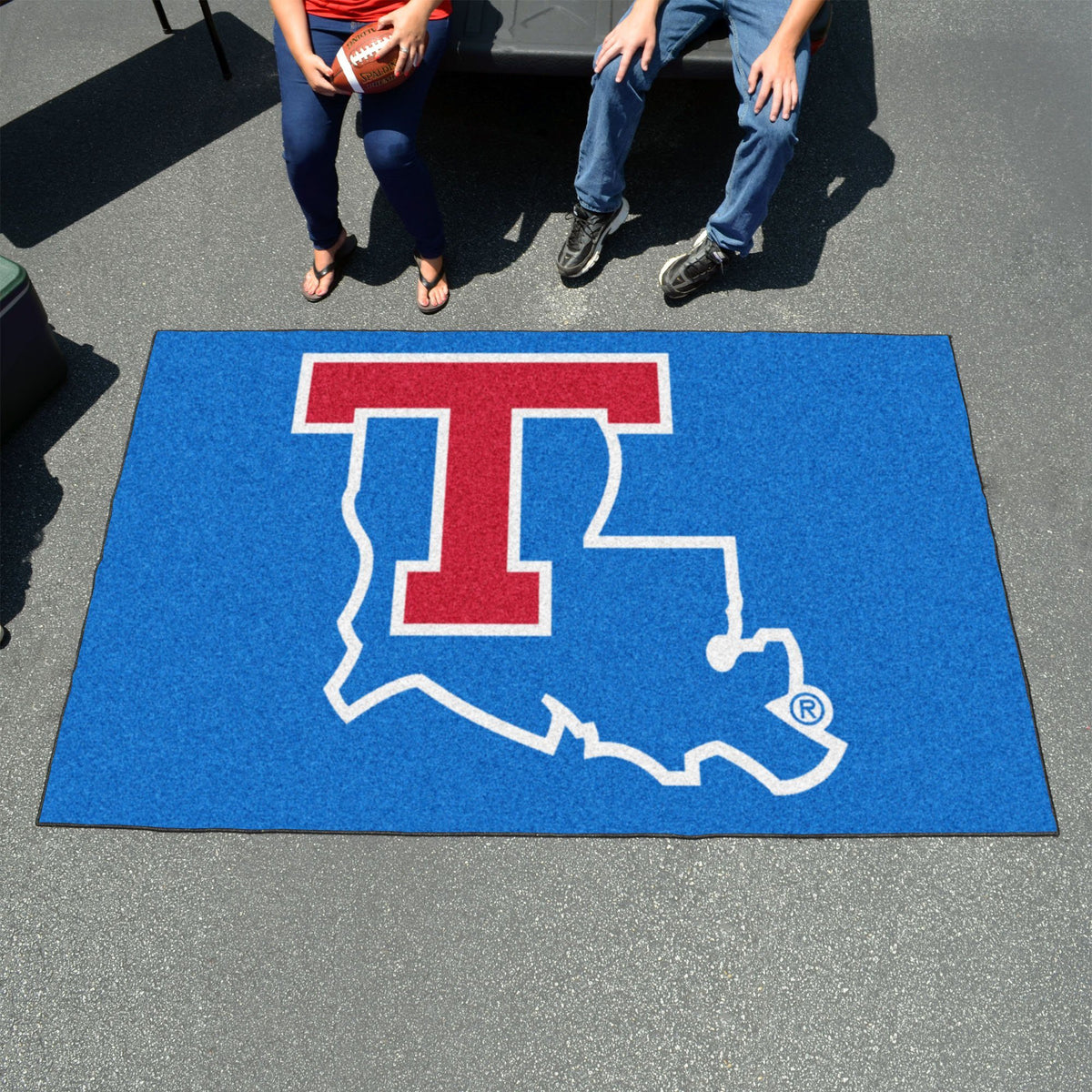 Collegiate - Ulti-Mat: A - L Collegiate Mats, Rectangular Mats, Ulti-Mat, Collegiate, Home Fan Mats Louisiana Tech