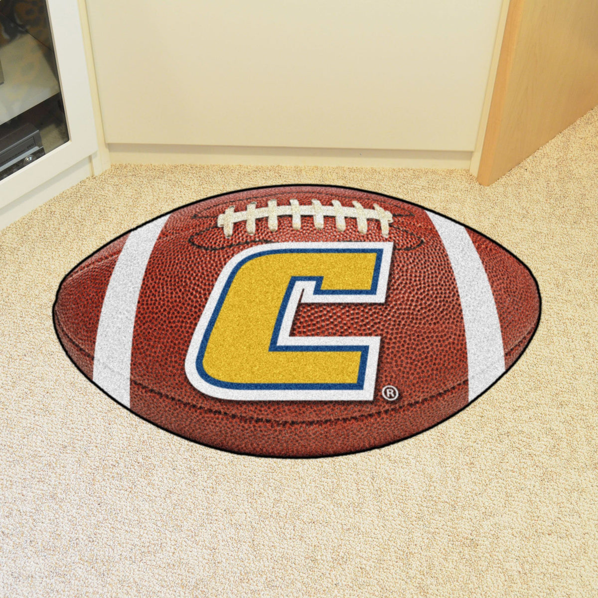 Collegiate - Football Mat: A - K Collegiate Mats, Rectangular Mats, Football Mat, Collegiate, Home Fan Mats Chattanooga