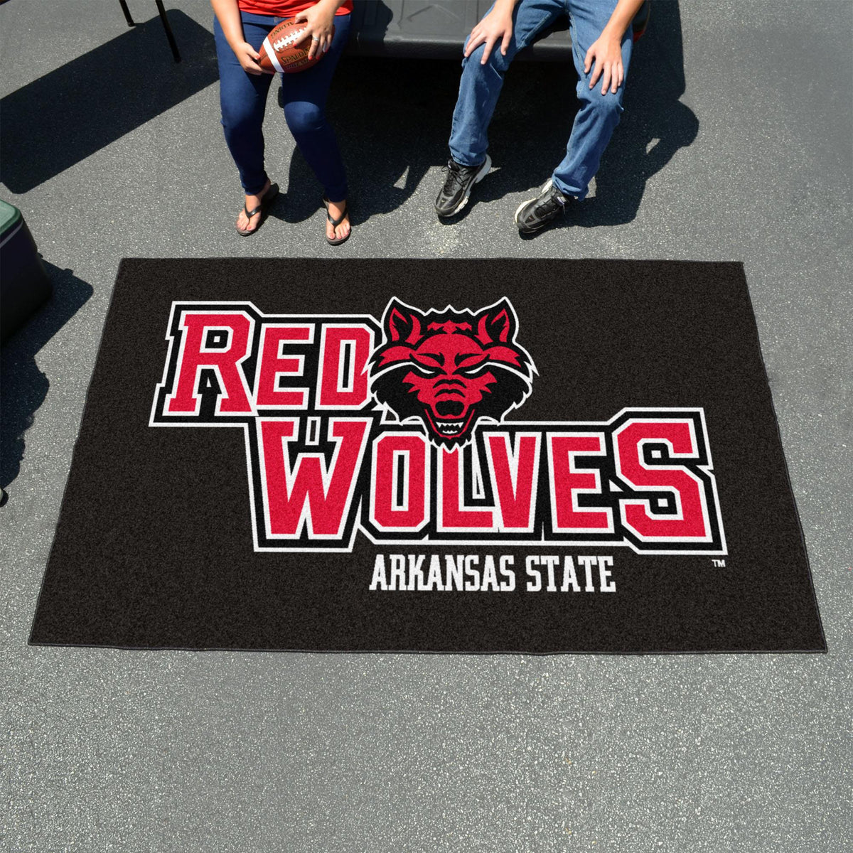 Collegiate - Ulti-Mat: A - L Collegiate Mats, Rectangular Mats, Ulti-Mat, Collegiate, Home Fan Mats Arkansas State