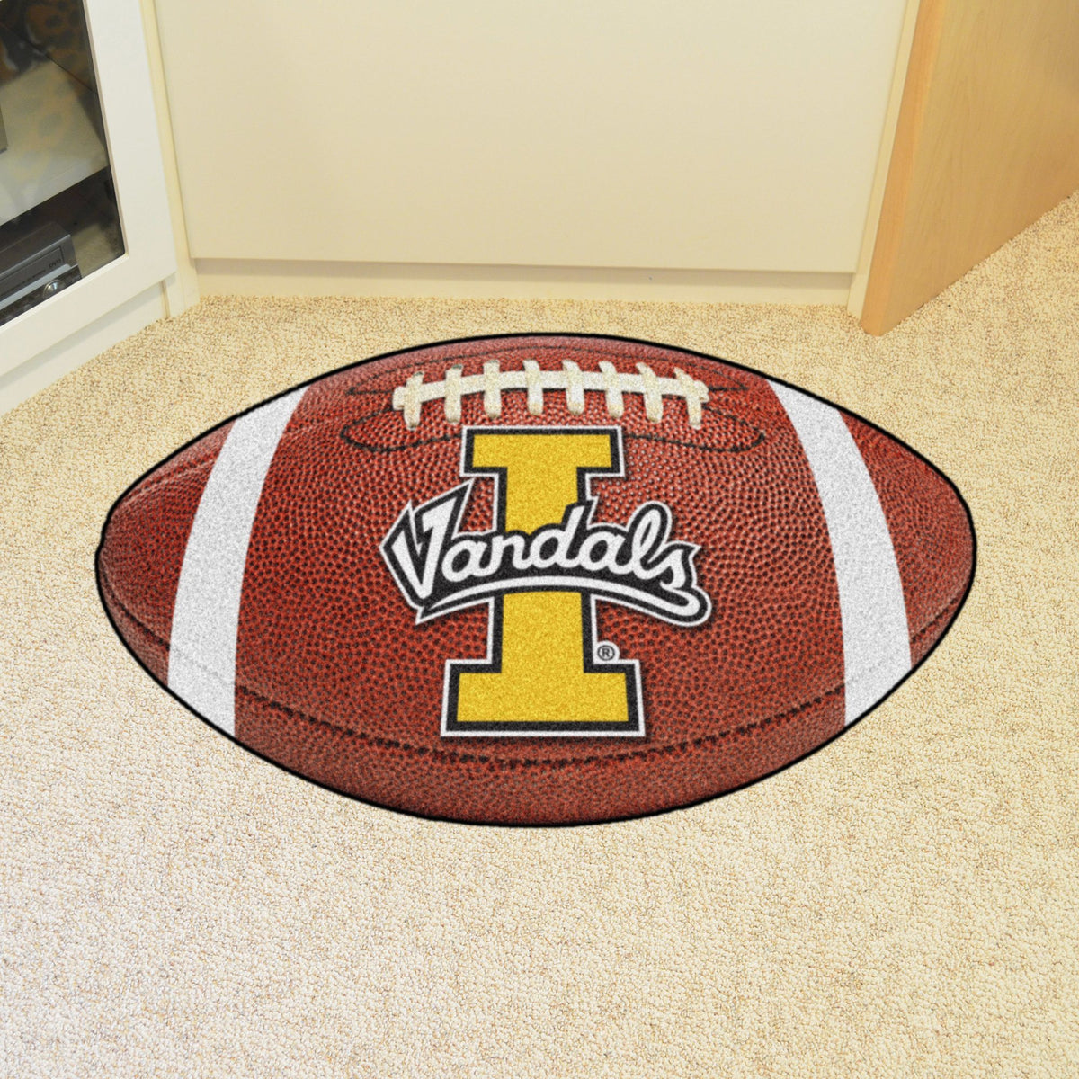 Collegiate - Football Mat: A - K Collegiate Mats, Rectangular Mats, Football Mat, Collegiate, Home Fan Mats Idaho