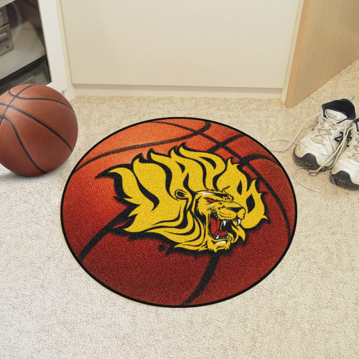 Collegiate - Basketball Mat: T - Z Collegiate Mats, Rectangular Mats, Basketball Mat, Collegiate, Home Fan Mats UAPB