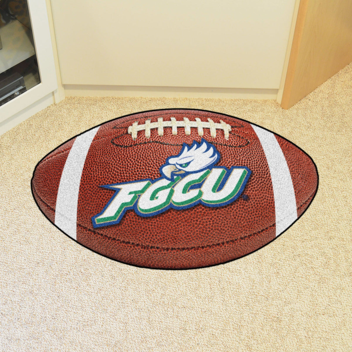 Collegiate - Football Mat: A - K Collegiate Mats, Rectangular Mats, Football Mat, Collegiate, Home Fan Mats Florida Gulf Coast