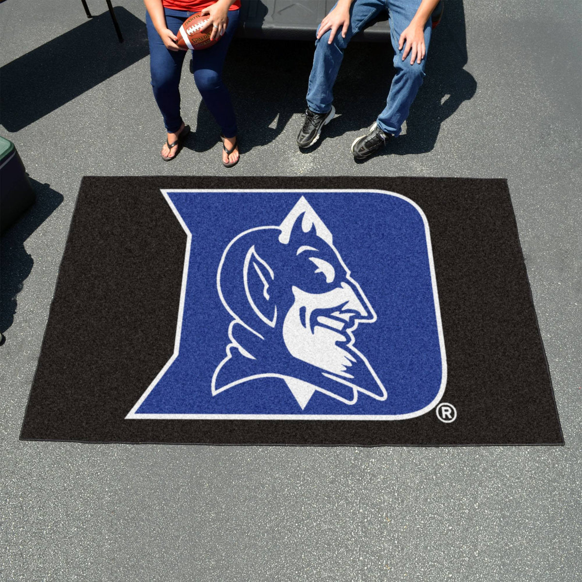 Collegiate - Ulti-Mat: A - L Collegiate Mats, Rectangular Mats, Ulti-Mat, Collegiate, Home Fan Mats Duke