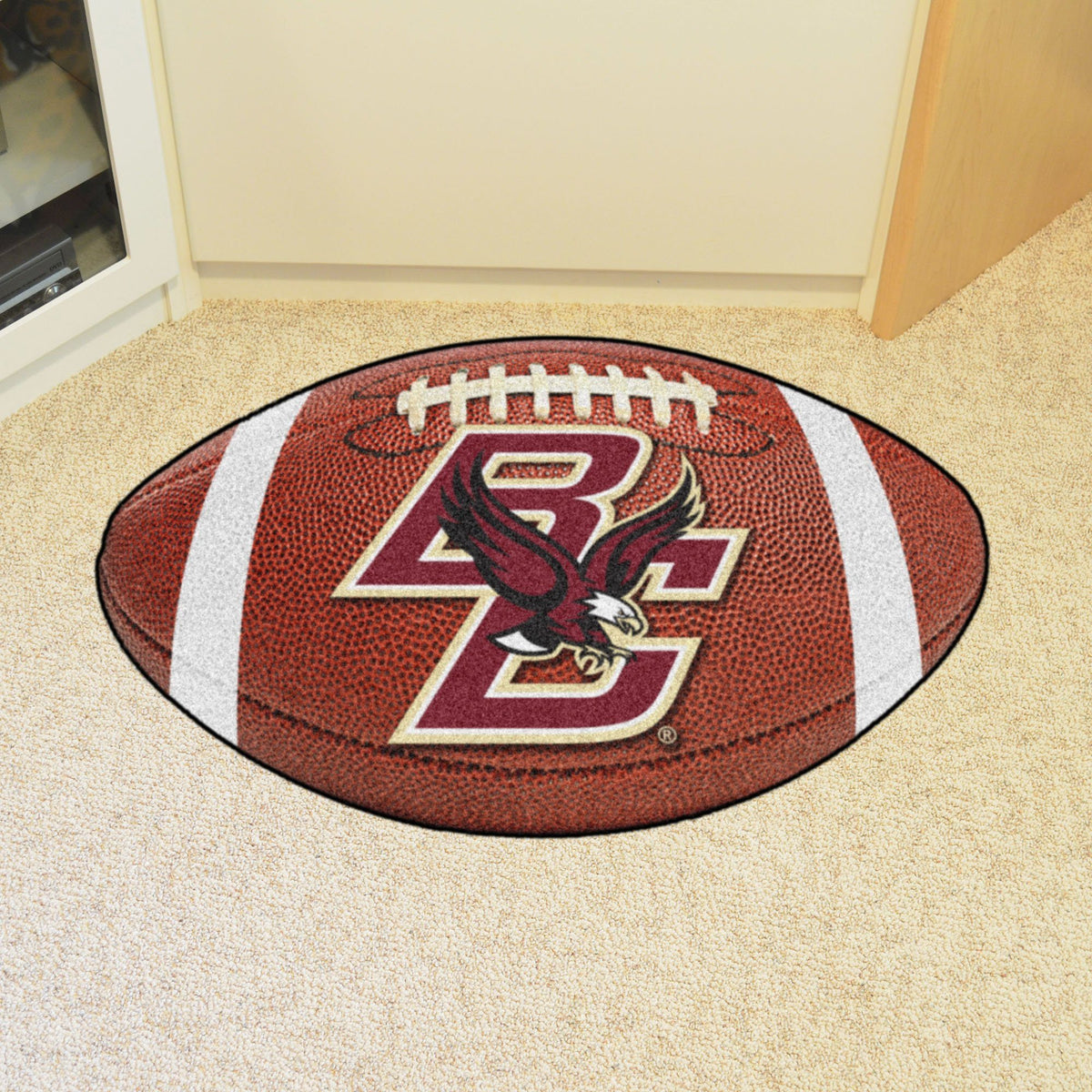 Collegiate - Football Mat: A - K Collegiate Mats, Rectangular Mats, Football Mat, Collegiate, Home Fan Mats Boston College