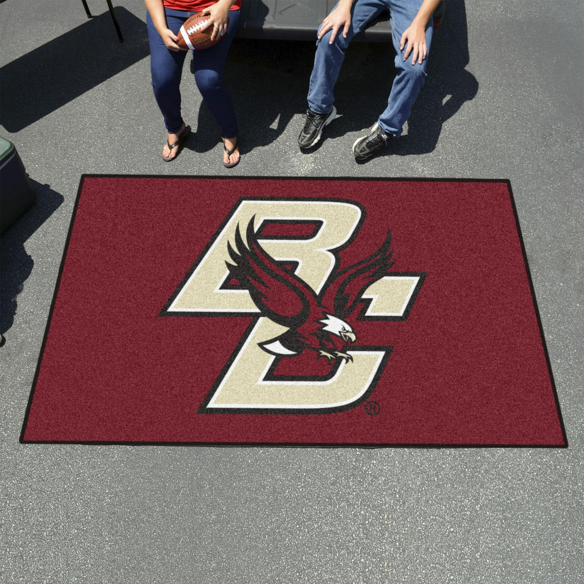 Collegiate - Ulti-Mat: A - L Collegiate Mats, Rectangular Mats, Ulti-Mat, Collegiate, Home Fan Mats Boston College
