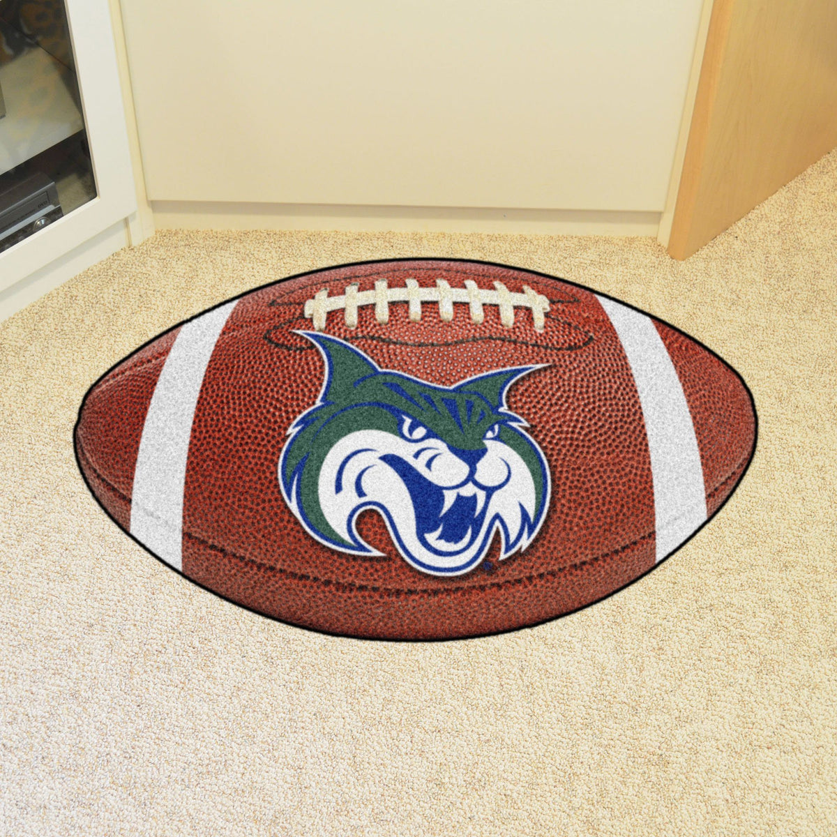 Collegiate - Football Mat: A - K Collegiate Mats, Rectangular Mats, Football Mat, Collegiate, Home Fan Mats Georgia College