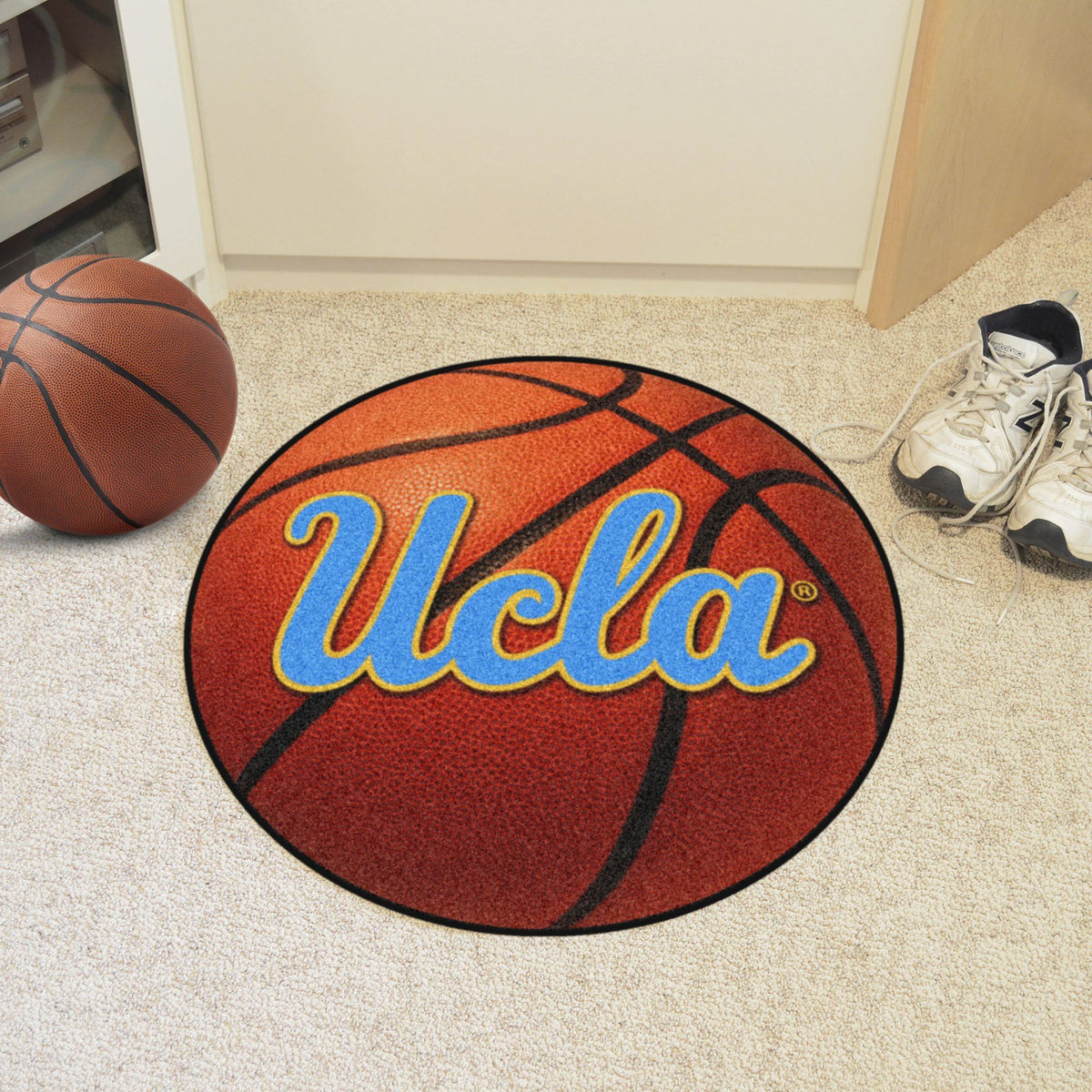 Collegiate - Basketball Mat: T - Z Collegiate Mats, Rectangular Mats, Basketball Mat, Collegiate, Home Fan Mats UCLA