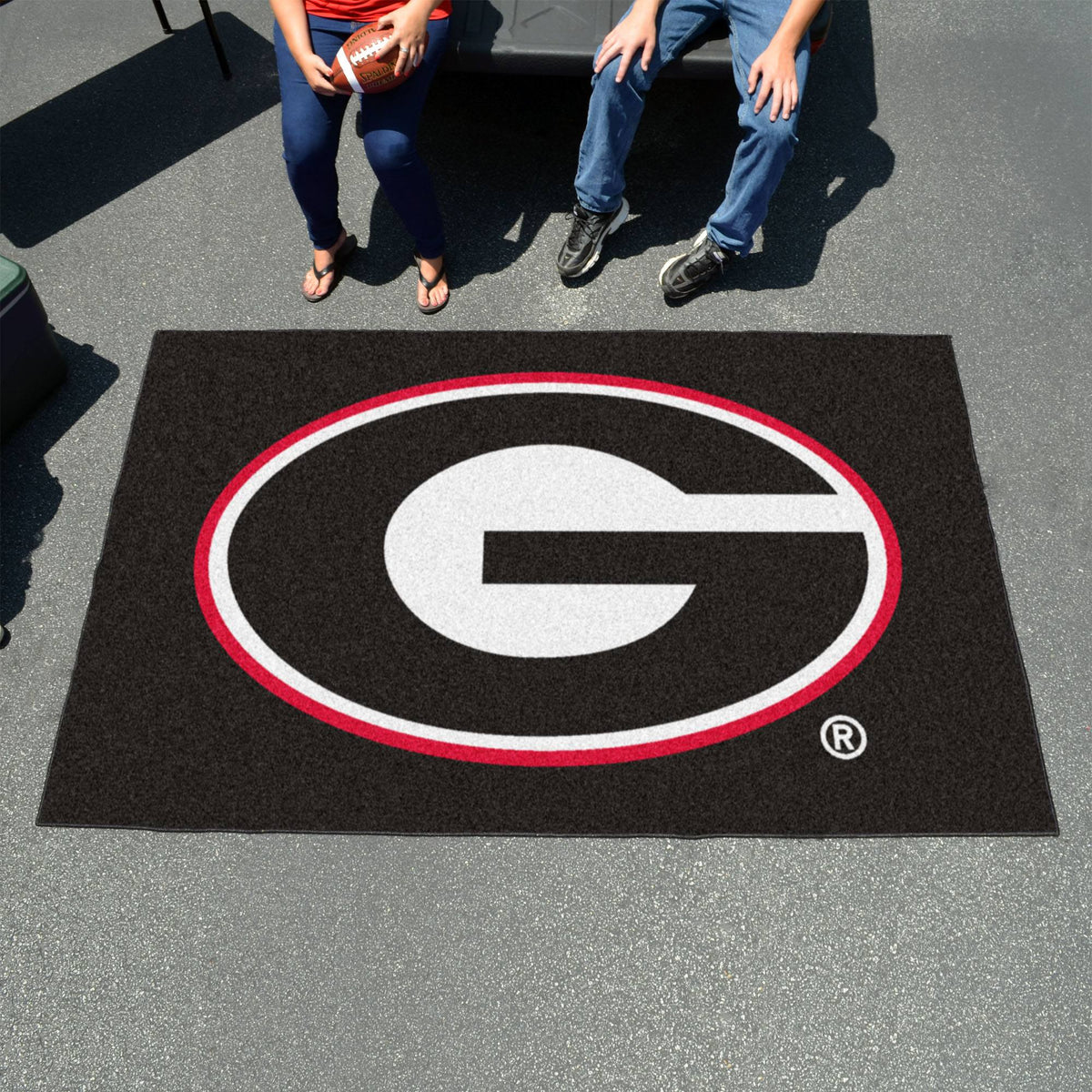 Collegiate - Ulti-Mat: A - L Collegiate Mats, Rectangular Mats, Ulti-Mat, Collegiate, Home Fan Mats Georgia
