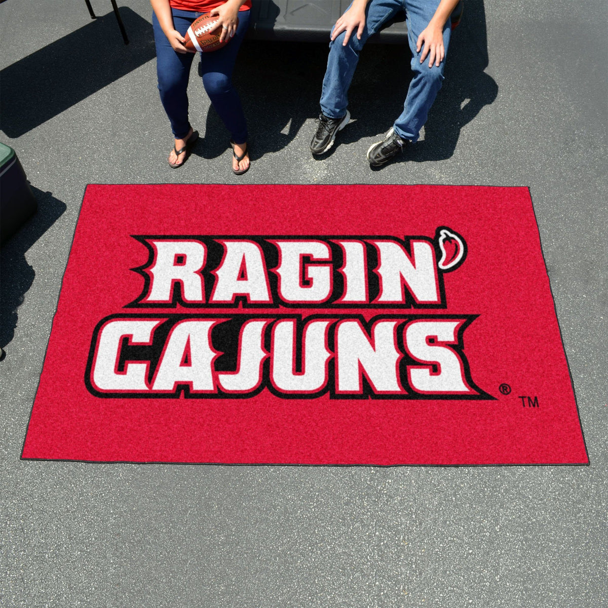 Collegiate - Ulti-Mat: A - L Collegiate Mats, Rectangular Mats, Ulti-Mat, Collegiate, Home Fan Mats Louisiana-Lafayette