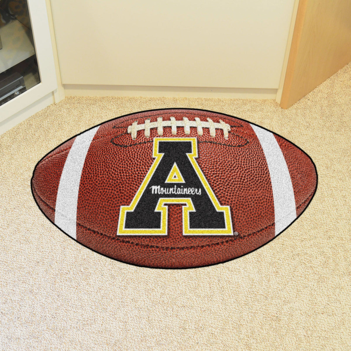 Collegiate - Football Mat: A - K Collegiate Mats, Rectangular Mats, Football Mat, Collegiate, Home Fan Mats Appalachian State