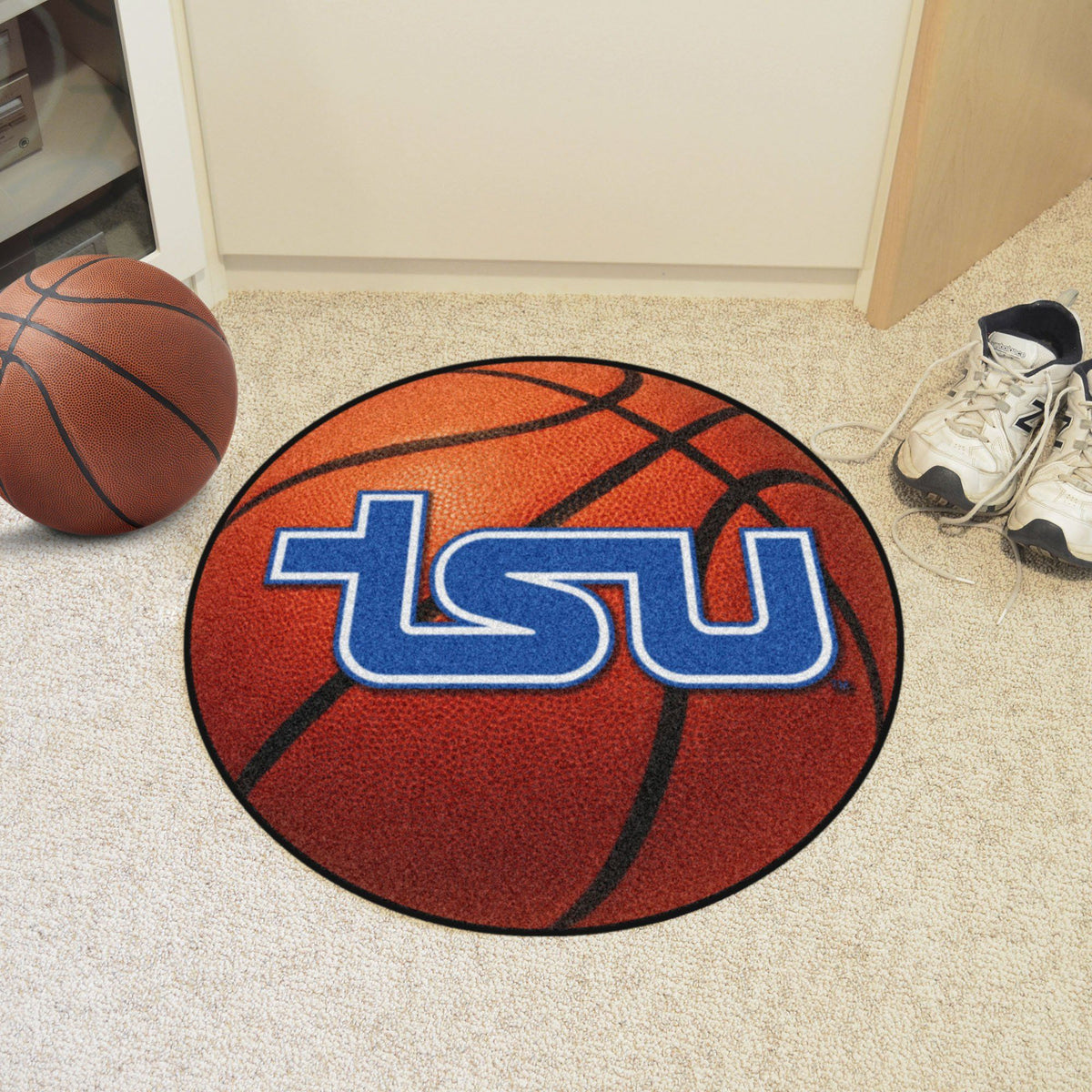 Collegiate - Basketball Mat: T - Z Collegiate Mats, Rectangular Mats, Basketball Mat, Collegiate, Home Fan Mats Tennessee State