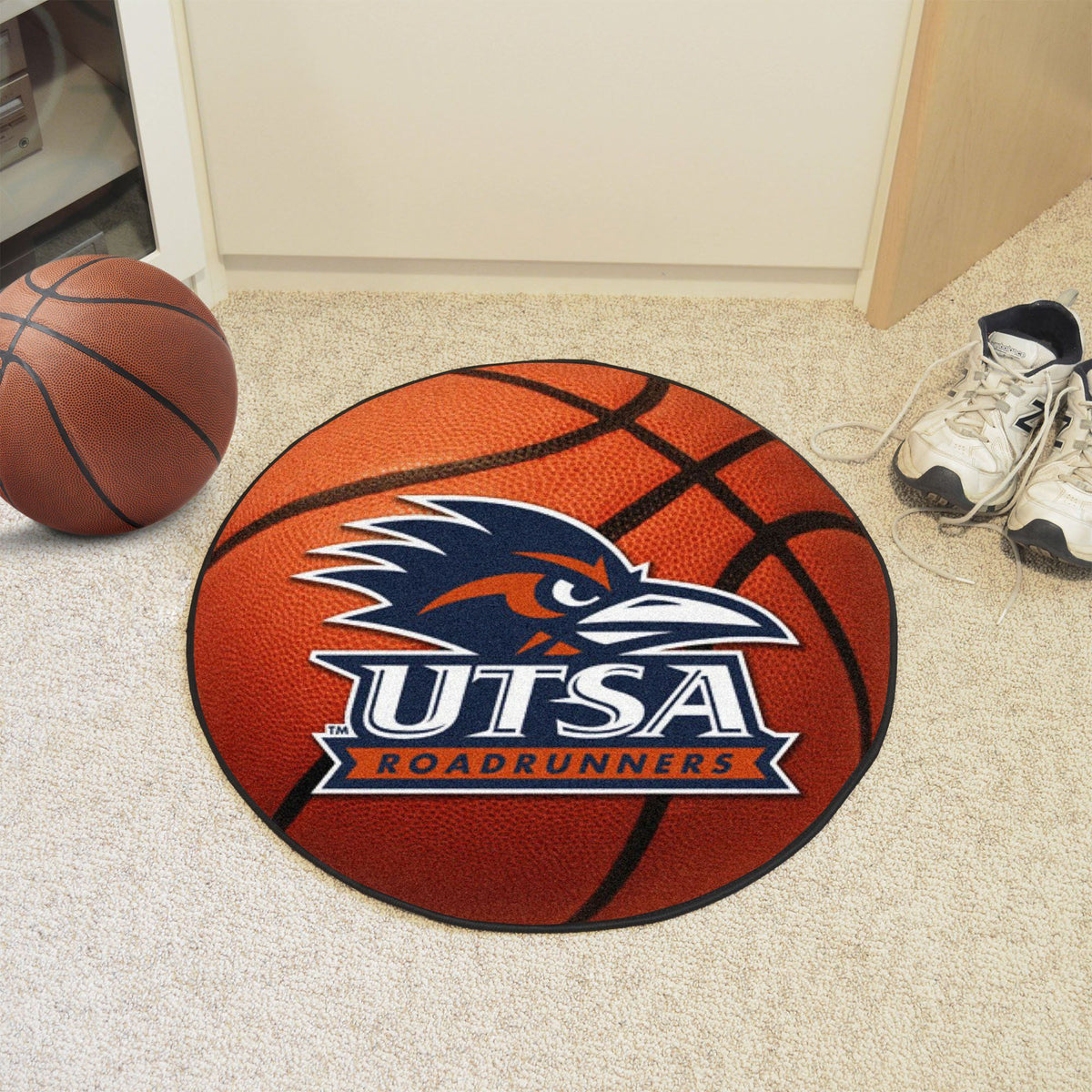 Collegiate - Basketball Mat: T - Z Collegiate Mats, Rectangular Mats, Basketball Mat, Collegiate, Home Fan Mats UTSA