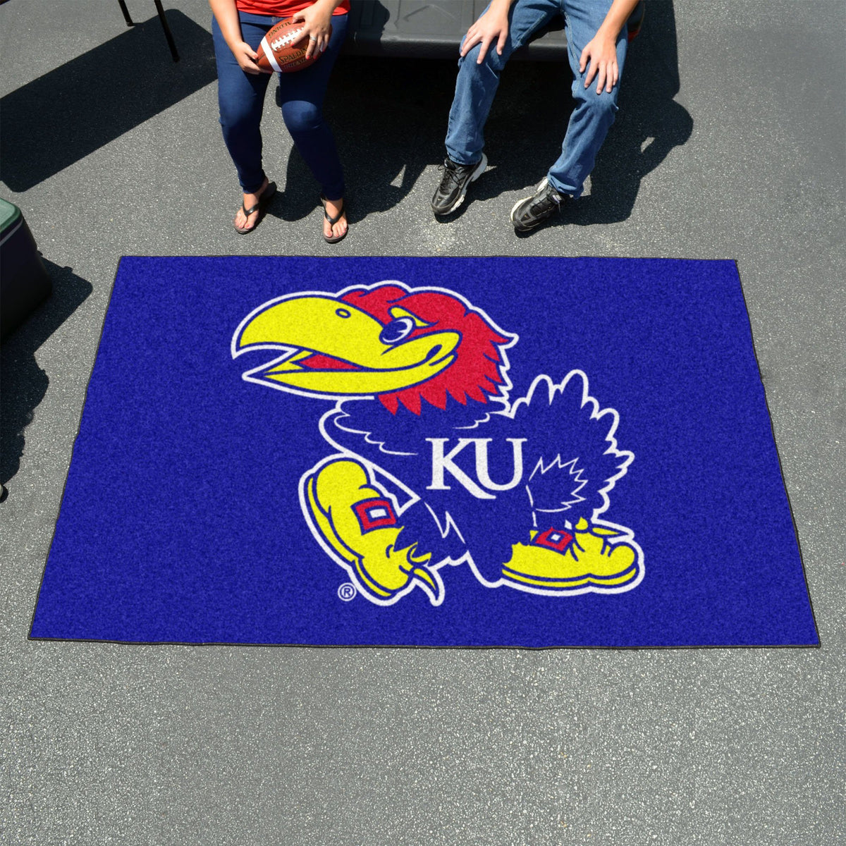Collegiate - Ulti-Mat: A - L Collegiate Mats, Rectangular Mats, Ulti-Mat, Collegiate, Home Fan Mats Kansas