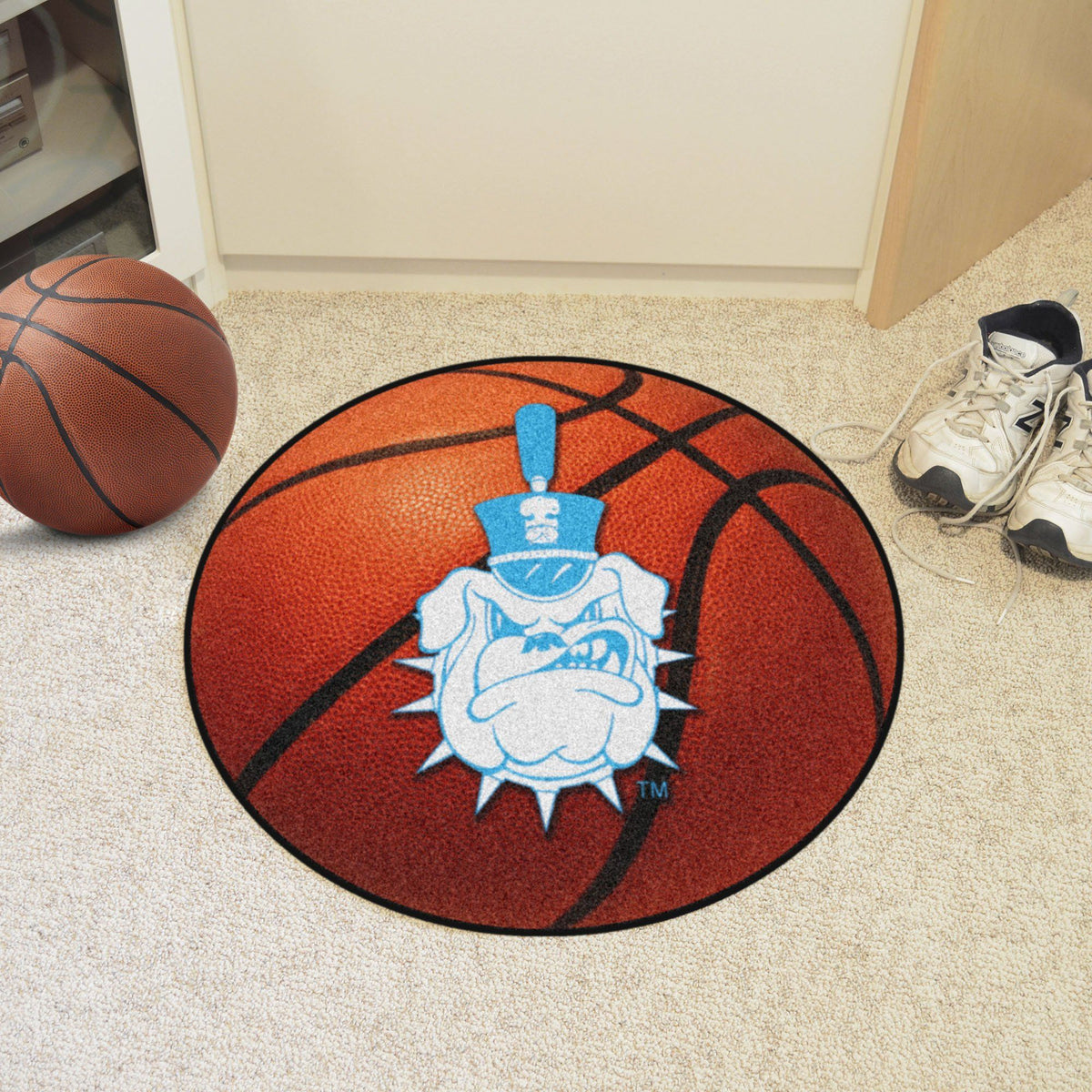 Collegiate - Basketball Mat: T - Z Collegiate Mats, Rectangular Mats, Basketball Mat, Collegiate, Home Fan Mats The Citadel