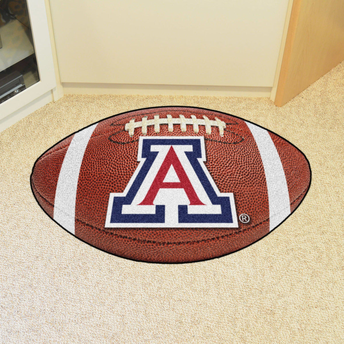 Collegiate - Football Mat: A - K Collegiate Mats, Rectangular Mats, Football Mat, Collegiate, Home Fan Mats Arizona