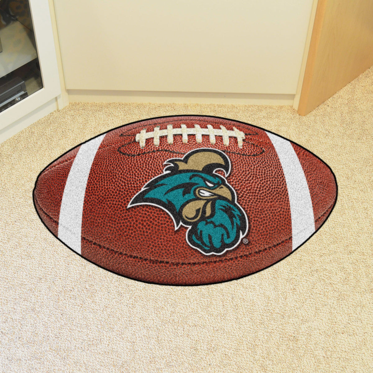 Collegiate - Football Mat: A - K Collegiate Mats, Rectangular Mats, Football Mat, Collegiate, Home Fan Mats Coastal Carolina