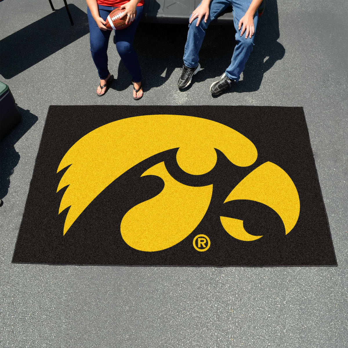 Collegiate - Ulti-Mat: A - L Collegiate Mats, Rectangular Mats, Ulti-Mat, Collegiate, Home Fan Mats Iowa