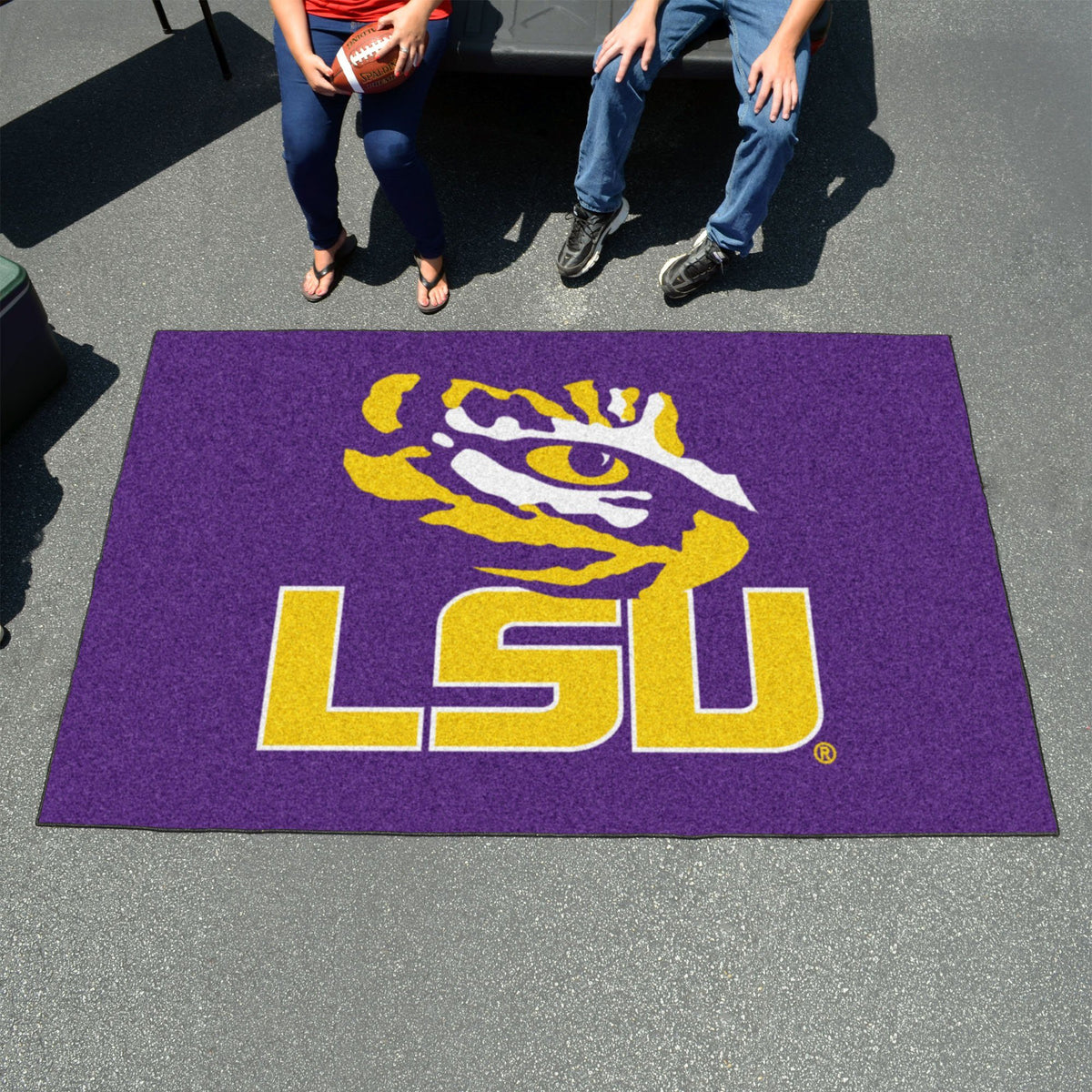 Collegiate - Ulti-Mat: A - L Collegiate Mats, Rectangular Mats, Ulti-Mat, Collegiate, Home Fan Mats LSU