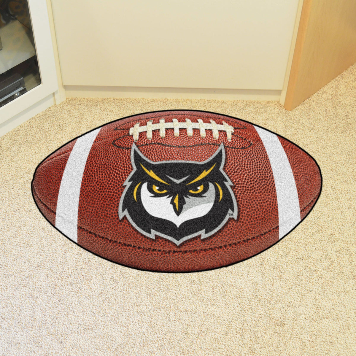 Collegiate - Football Mat: A - K Collegiate Mats, Rectangular Mats, Football Mat, Collegiate, Home Fan Mats Kennesaw State