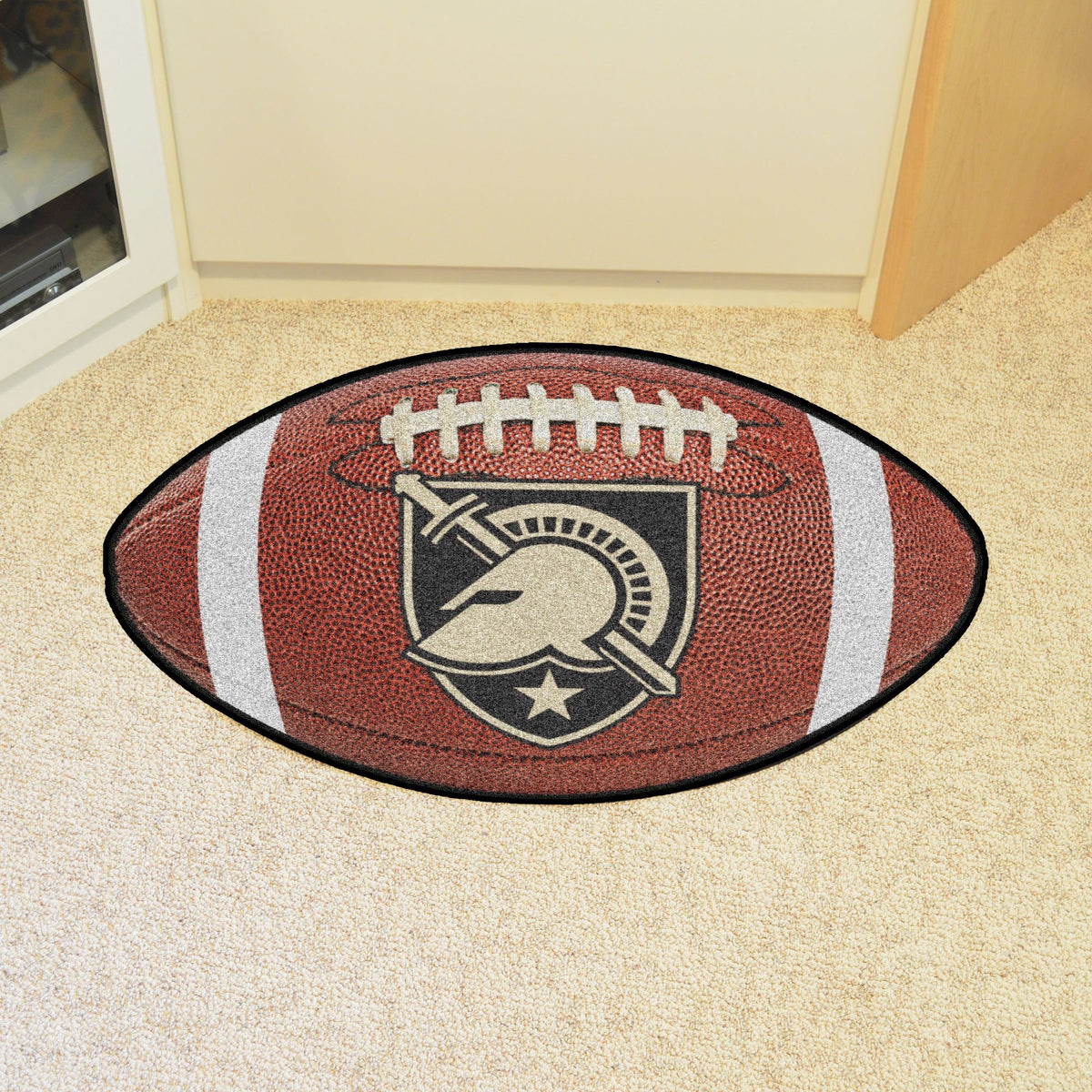 Collegiate - Football Mat: A - K Collegiate Mats, Rectangular Mats, Football Mat, Collegiate, Home Fan Mats Army West Point