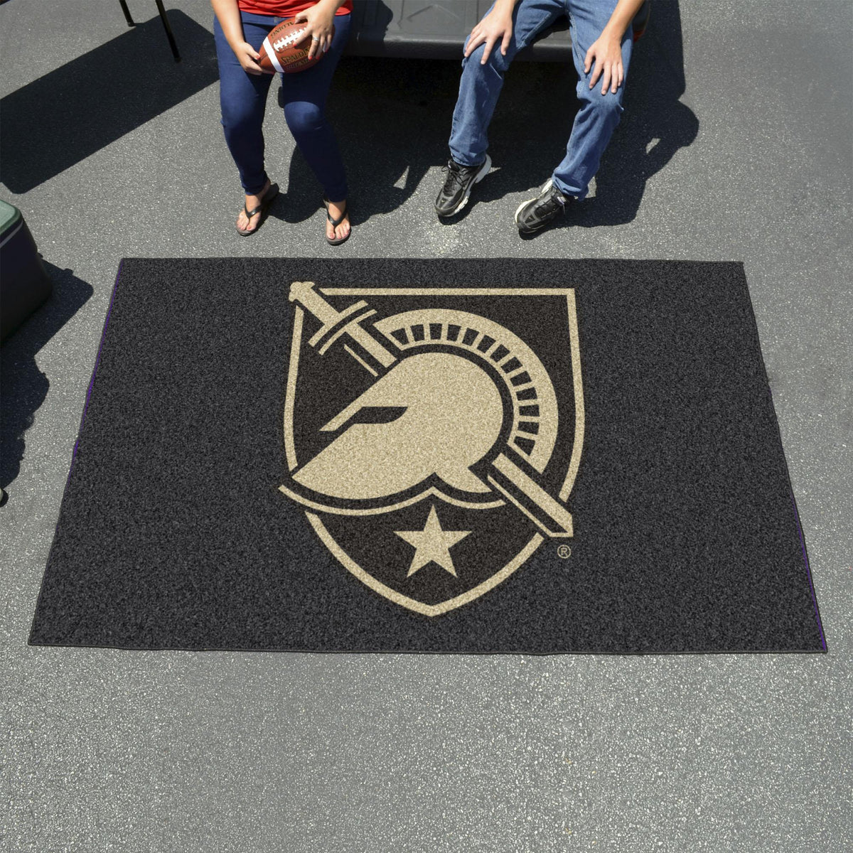 Collegiate - Ulti-Mat: A - L Collegiate Mats, Rectangular Mats, Ulti-Mat, Collegiate, Home Fan Mats Army West Point