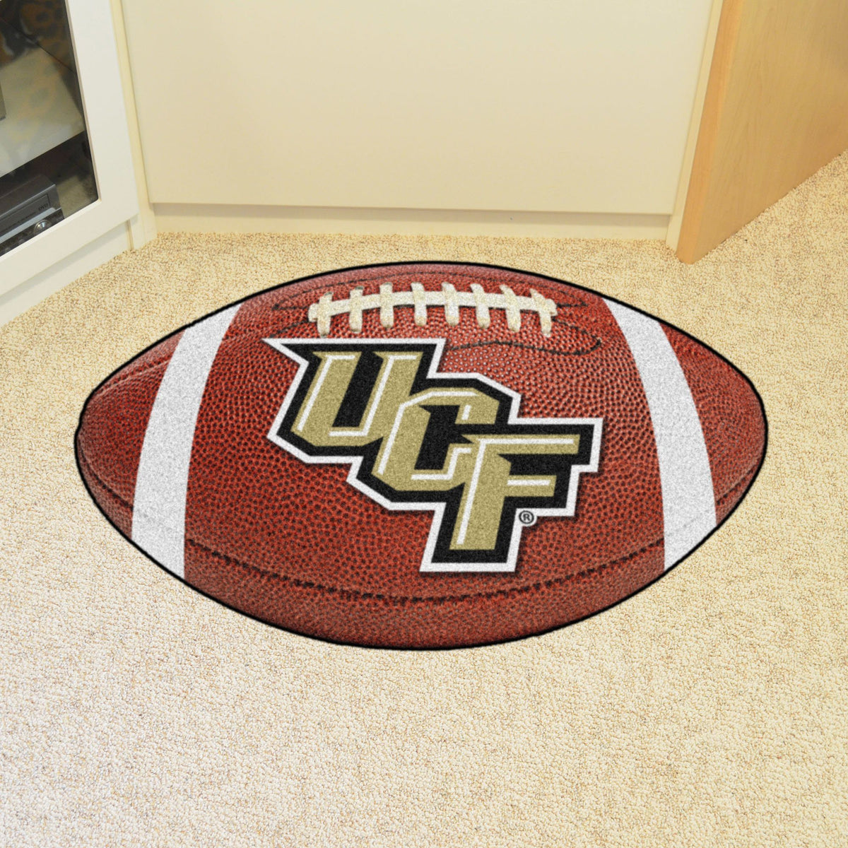 Collegiate - Football Mat: A - K Collegiate Mats, Rectangular Mats, Football Mat, Collegiate, Home Fan Mats Central Florida