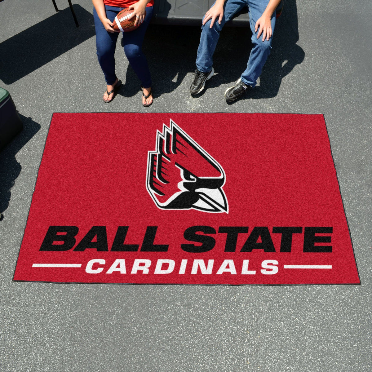 Collegiate - Ulti-Mat: A - L Collegiate Mats, Rectangular Mats, Ulti-Mat, Collegiate, Home Fan Mats Ball State